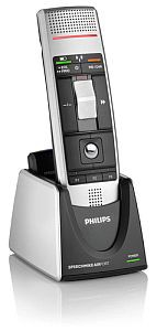 Philips-speechmike-with-cradle