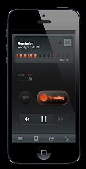 Smartphone dictation that is easy to use  Dictation on the fly
